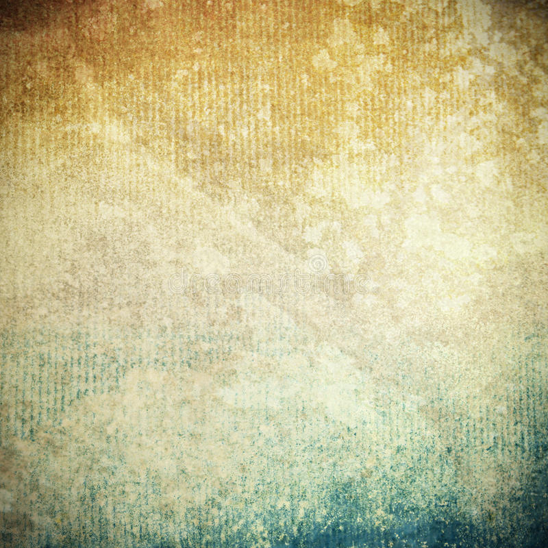 Textura de papel velha de Grunge como o fundo abstrato imagem de stock