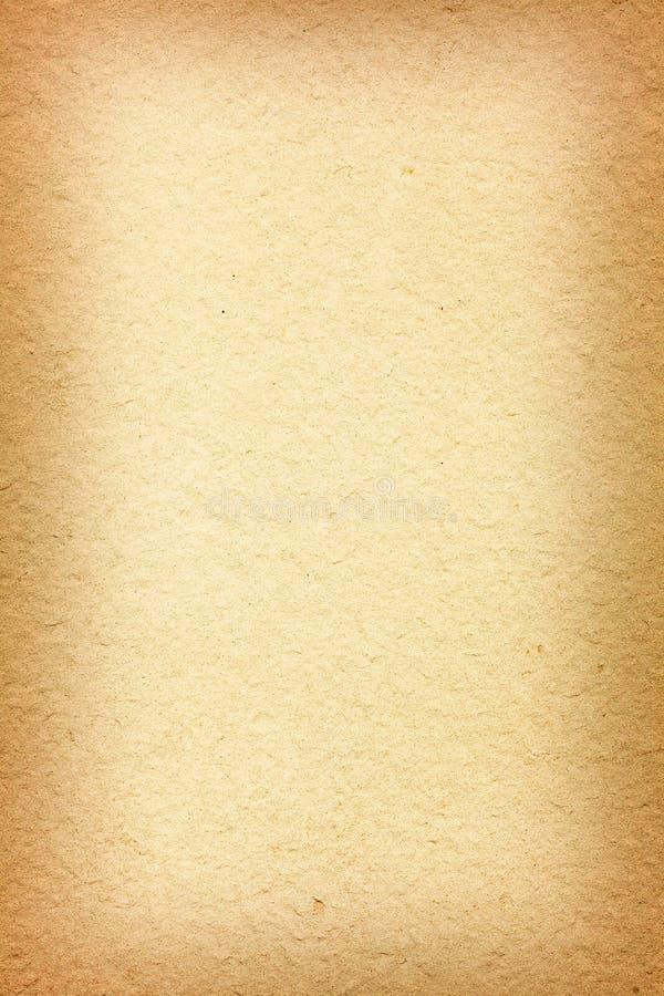 Textura de papel velha do Vignetting fotografia de stock royalty free