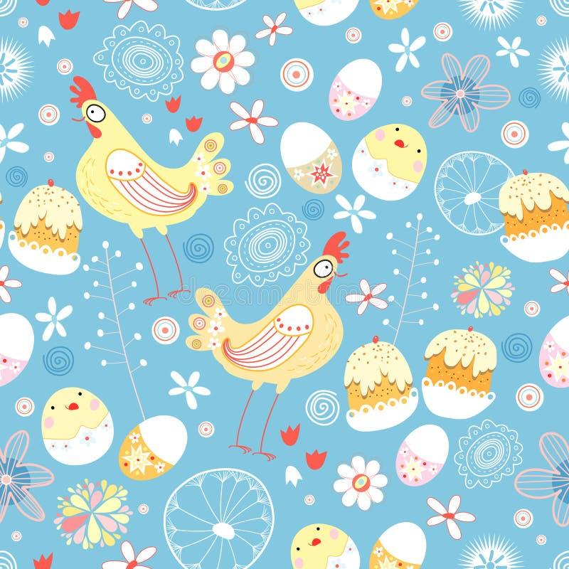 Textura de Pascua ilustración del vector