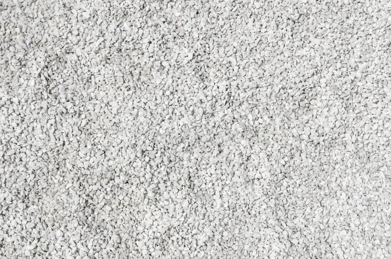 Textura de pedra branca do cascalho fotos de stock