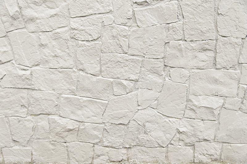 Textura de pedra branca do fundo da parede do mosaico foto for Textura de pared