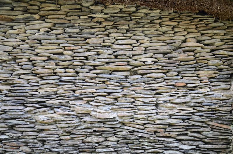 Textura de pedra da casa foto de stock royalty free