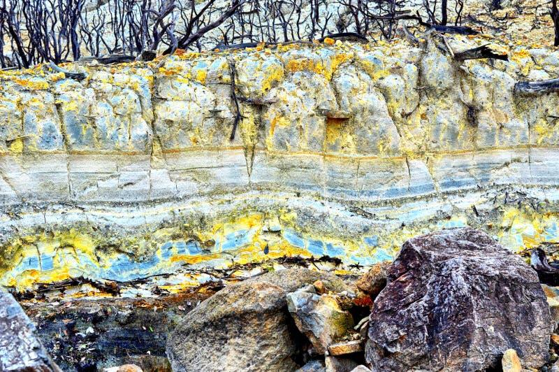 Textura de pedra da montanha imagem de stock