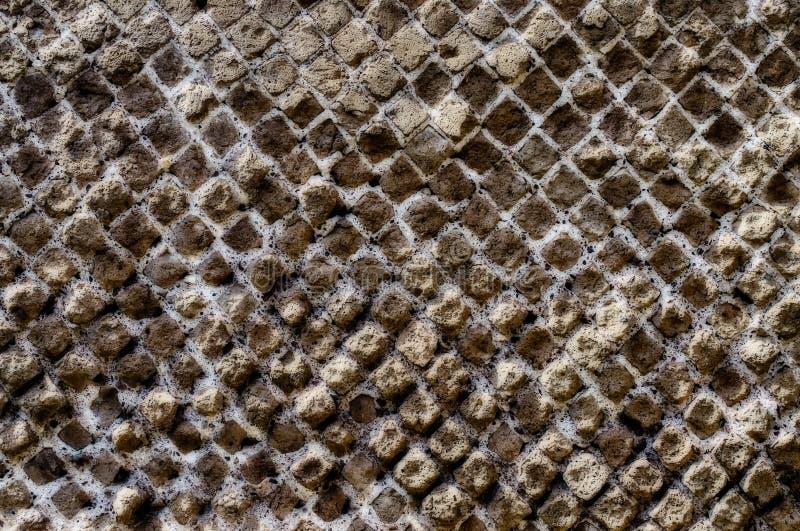 A textura de pedra da parede de tijolo, pode usar-se como o fundo fotos de stock