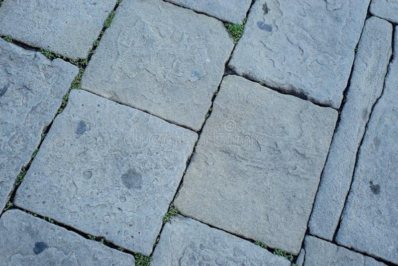 Textura de pedra do pavimento imagem de stock