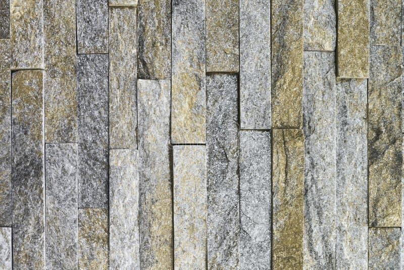 Textura de pedra dos tijolos do quartzito natural alaranjado criativo do vintage para finalidades do projeto imagens de stock