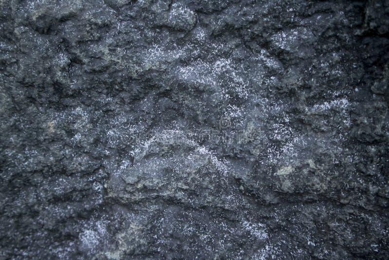 Textura de pedra preta imagem de stock