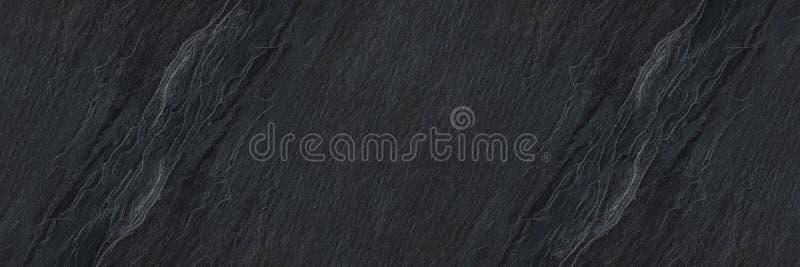 textura de pedra preta horizontal para o padrão e o fundo foto de stock