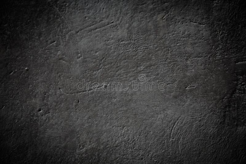 Textura de pedra preto e branco da parede do fundo do grunge foto de stock