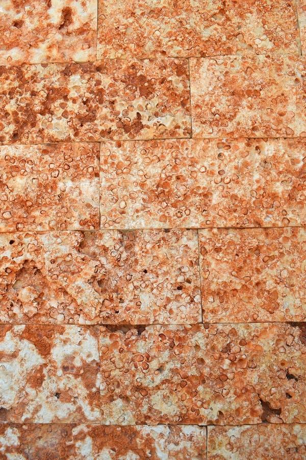 Textura de pedra vermelha imagem de stock royalty free