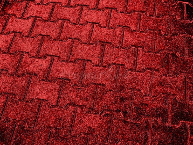 Textura de pedra vermelha ilustração do vetor