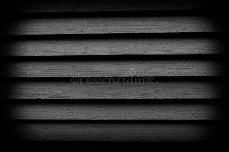 Textura de persianas de madera con vietado Gran fondo para cualquier uso Foto blanco y negro de Pek?n, China imágenes de archivo libres de regalías