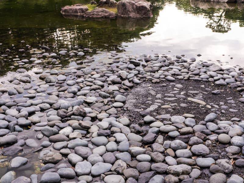 Textura de piedra con agua foto de archivo