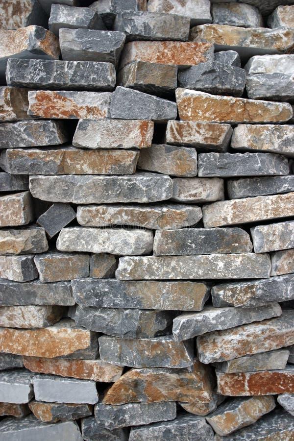 Textura de piedra de la pila foto de archivo libre de regalías
