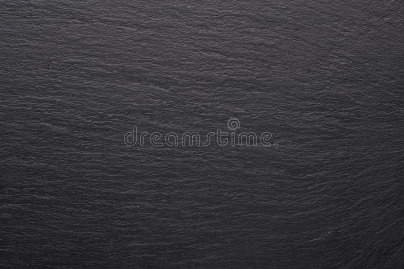 Textura de piedra negra de la teja Superficie negra vacía con el espacio de la copia fotografía de archivo