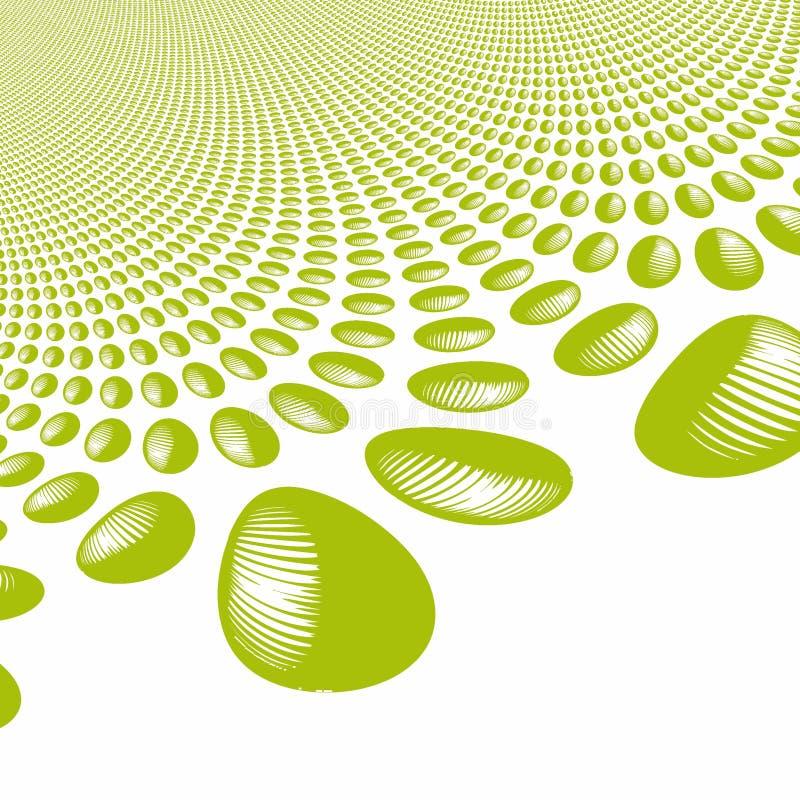 Textura de piedra, verde libre illustration