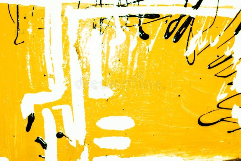 Textura de pinturas al óleo stock de ilustración