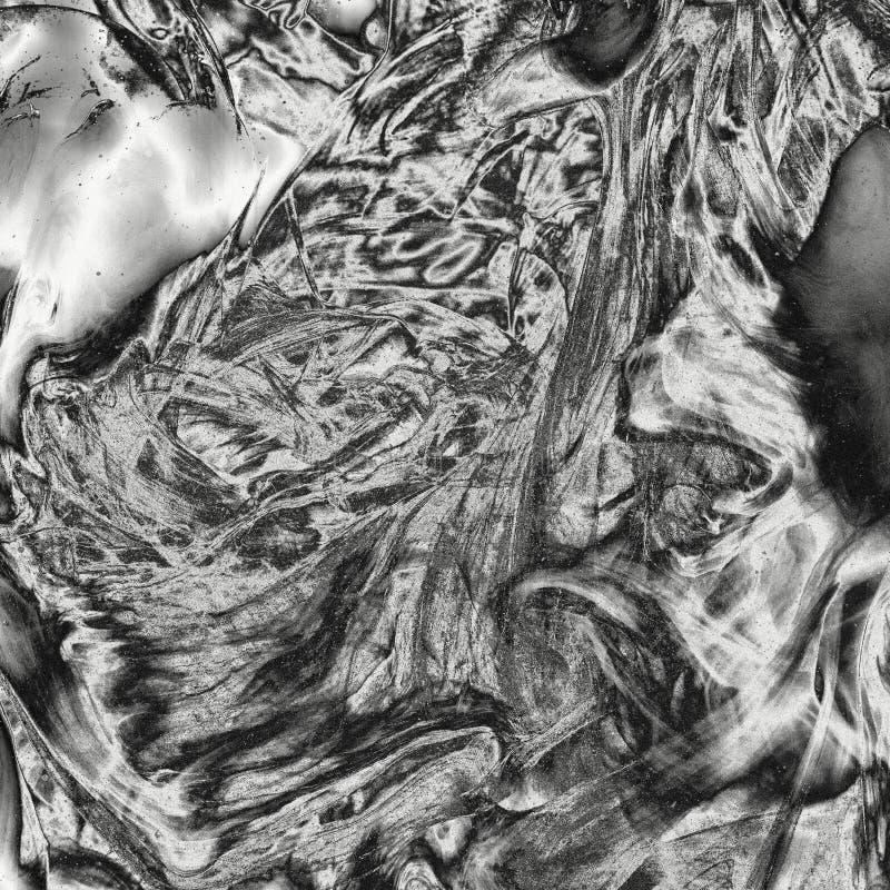 Textura de prata brilhante do líquido do metal ilustração royalty free