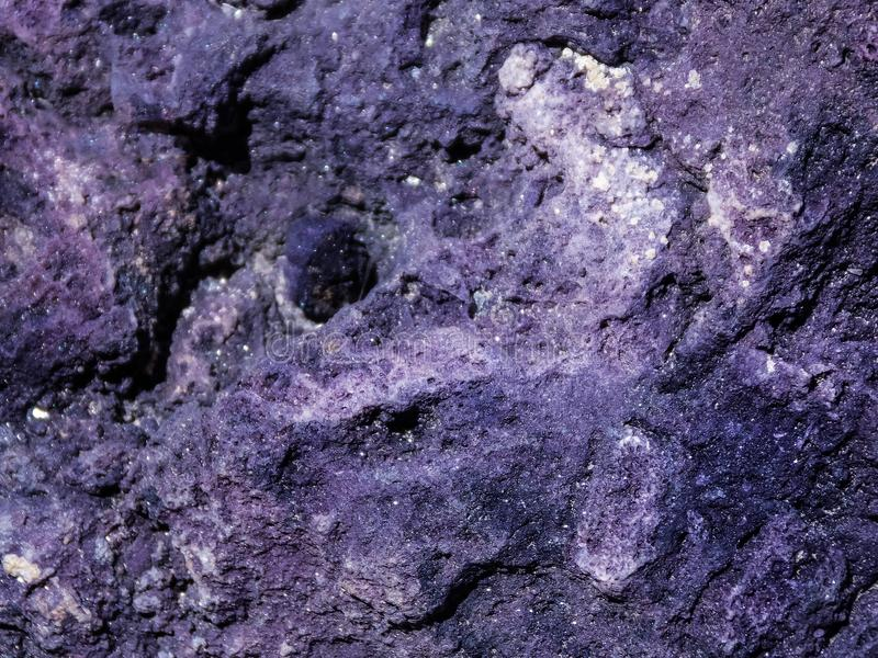 Textura de Purpurite imagem de stock