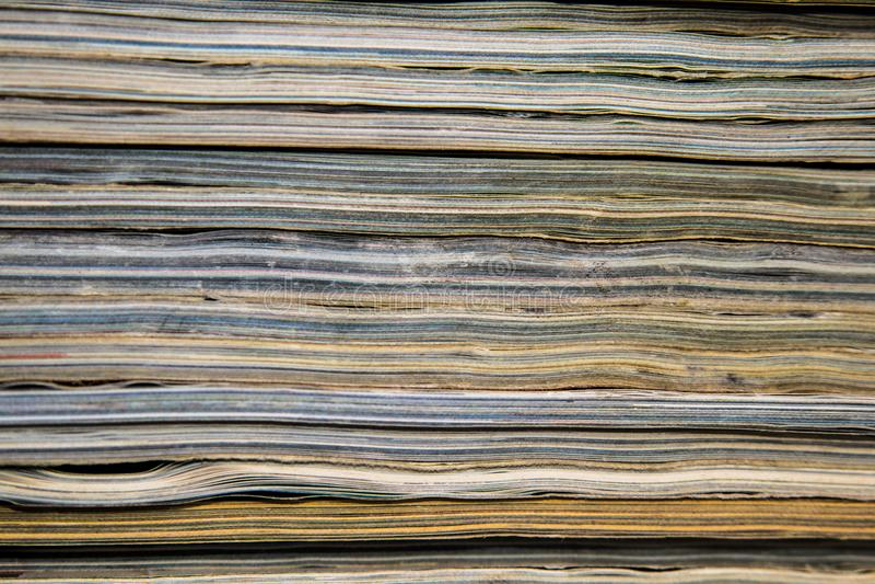 Textura de revistas fotos de archivo