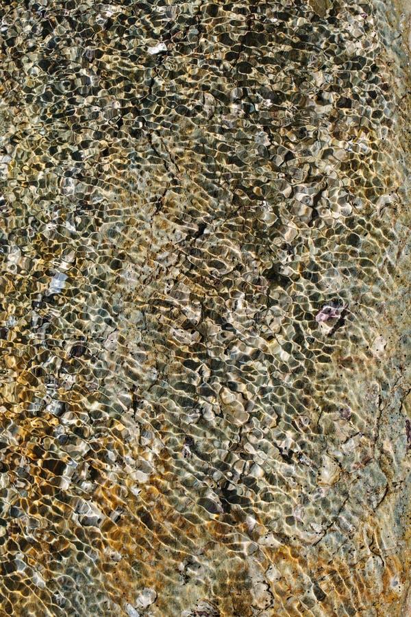 Textura de Rockpool fotos de archivo