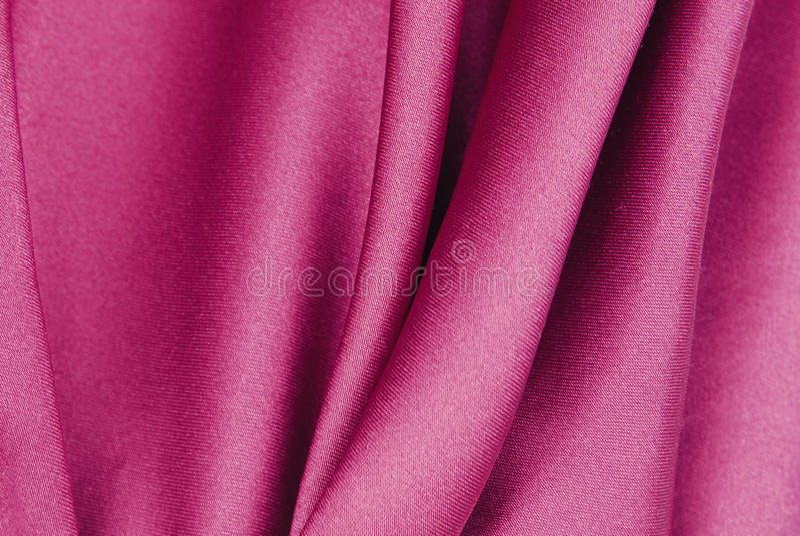 Textura de seda cor-de-rosa imagem de stock royalty free