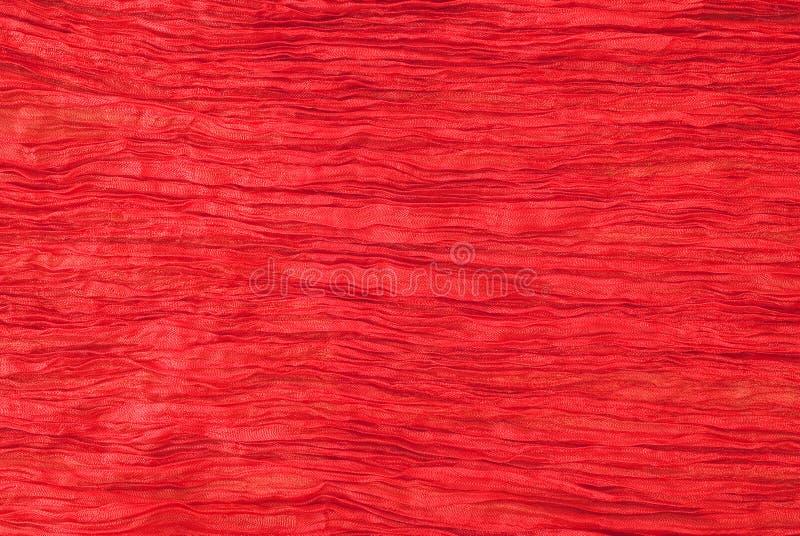 Textura de seda roja fina imágenes de archivo libres de regalías