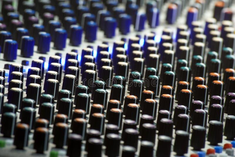 Textura de Soundboard fotografía de archivo