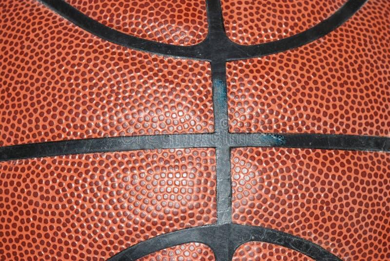Textura de superfície do basquetebol fotos de stock