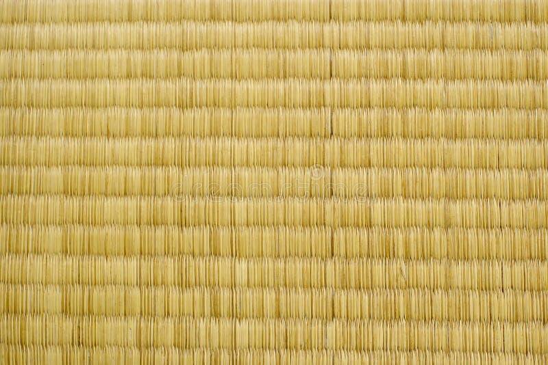 Textura de Tatami fotografia de stock royalty free