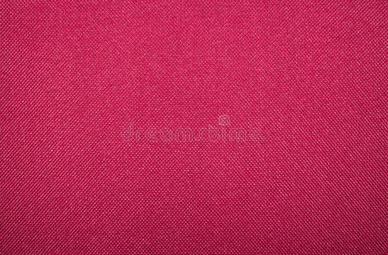 Textura de tecido de Crimson fotografia de stock royalty free