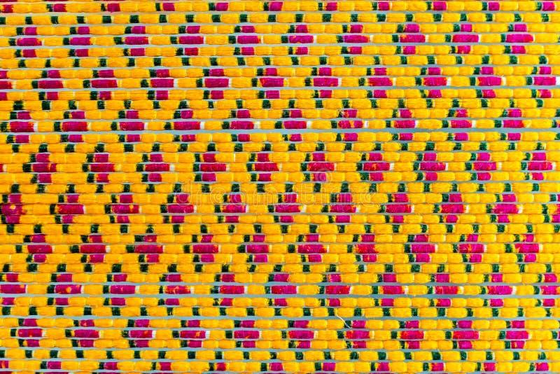 Textura de tejer o del modelo de seda tailandés Weavin del tablero de Mudmee de Ikat foto de archivo
