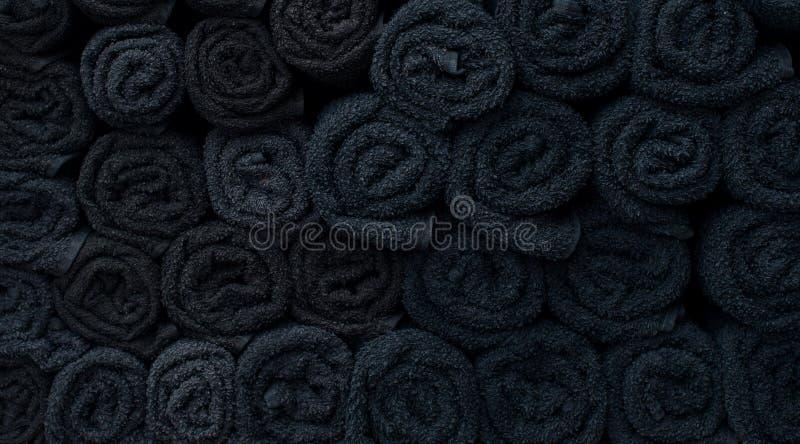 Textura de toalhas torcidas imagem de stock royalty free