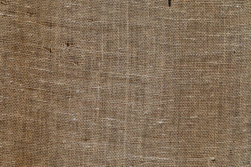 Textura de um saco de linho imagem de stock royalty free