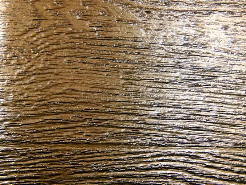 A textura de uma árvore coberta com o ouro imagens de stock
