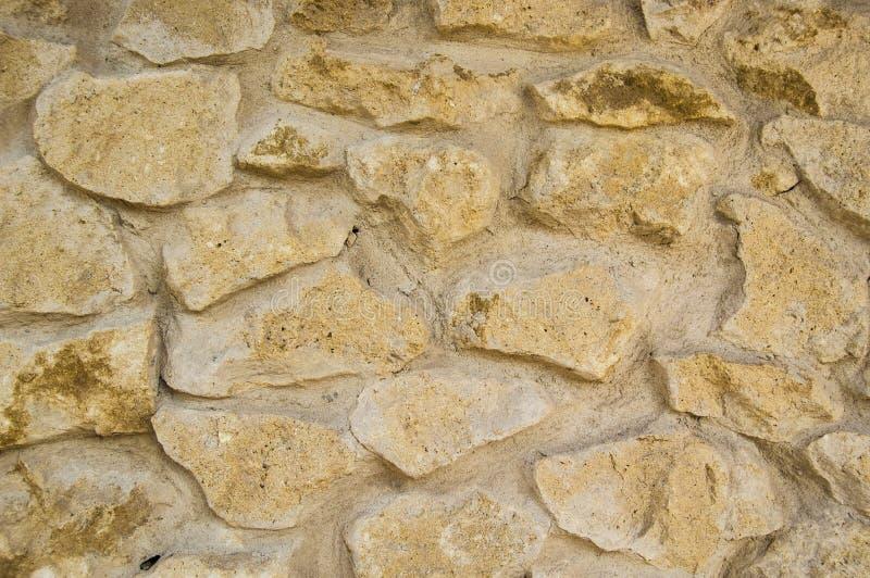 Textura de uma parede de pedra em um castelo fotos de stock