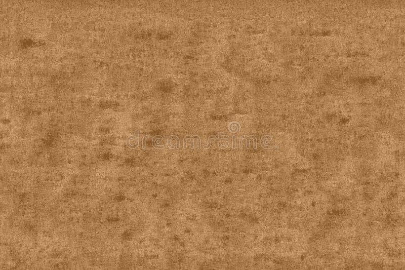 Textura de uma parte da placa de metal de cobre oxidada e velha ilustração do vetor