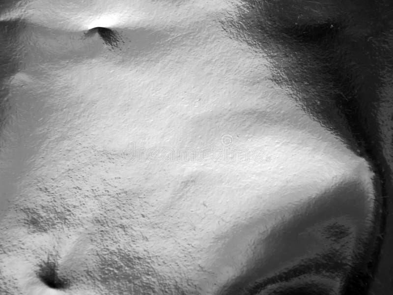 Textura de uma superfície de prata foto de stock