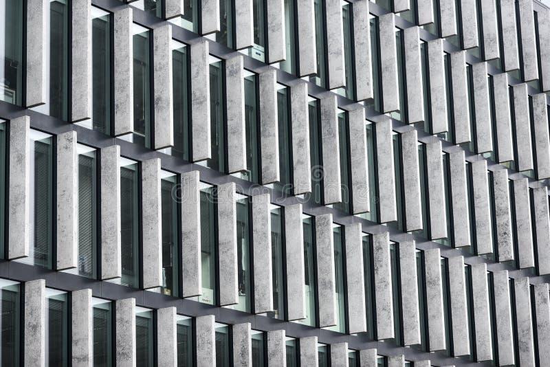 Textura de un edificio moderno fotografía de archivo