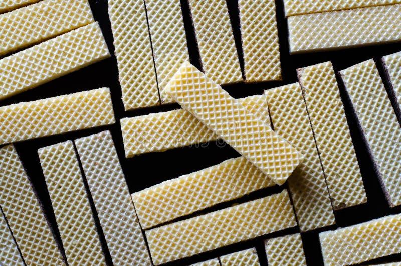 Textura de una oblea 02 fotos de archivo libres de regalías