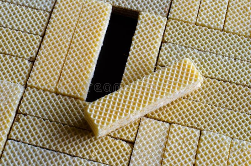Textura de una oblea 03 fotos de archivo