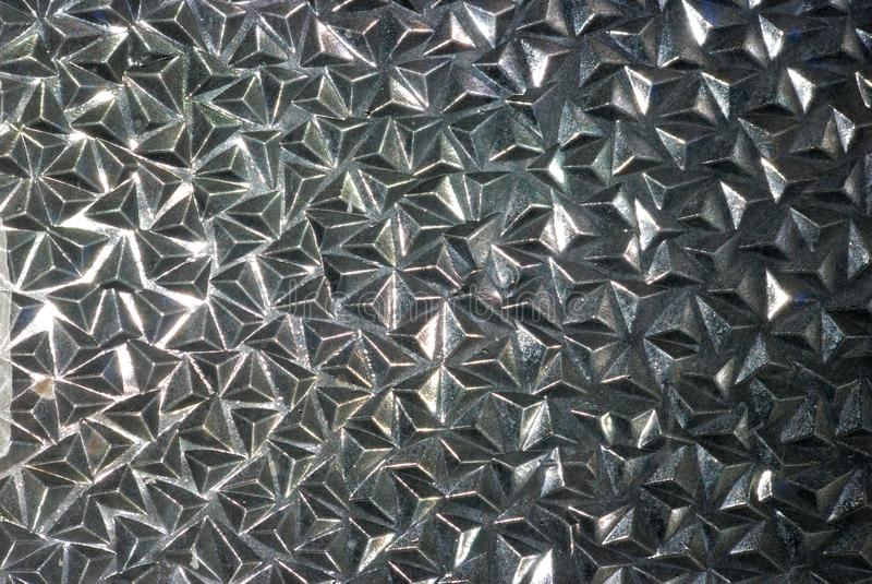 Textura de vidro imagens de stock