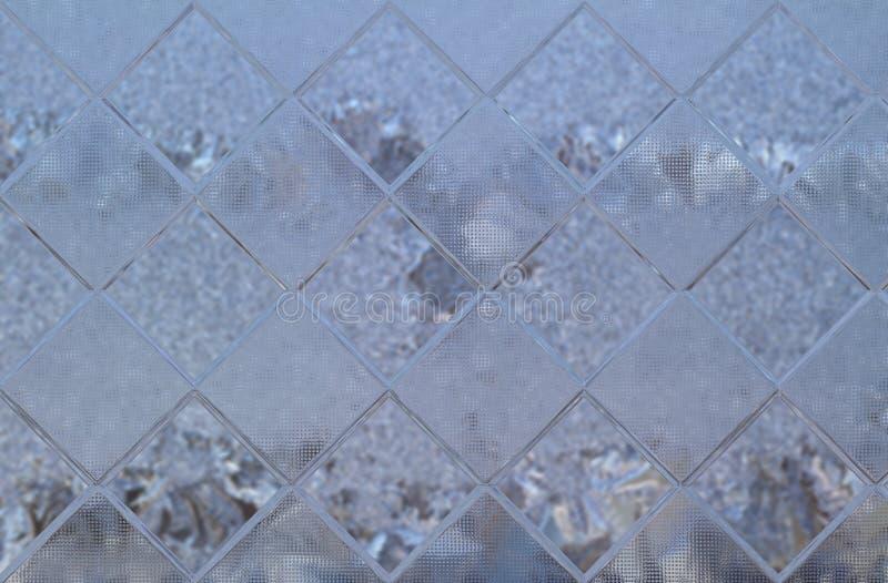 Textura de vidro dos indicadores fotografia de stock royalty free