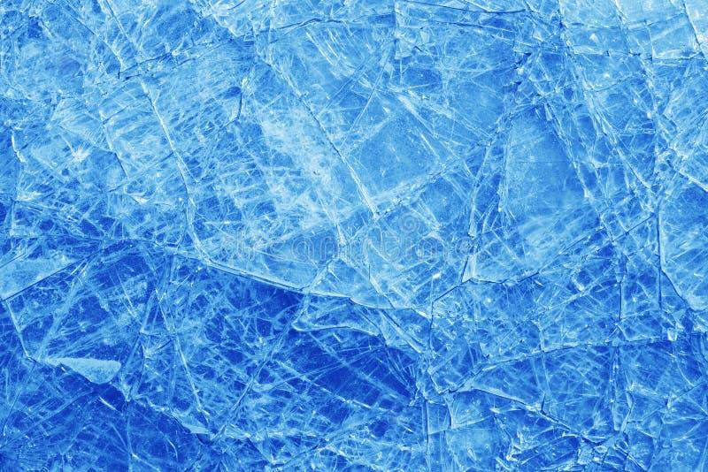 Textura de vidro quebrada fotografia de stock royalty free
