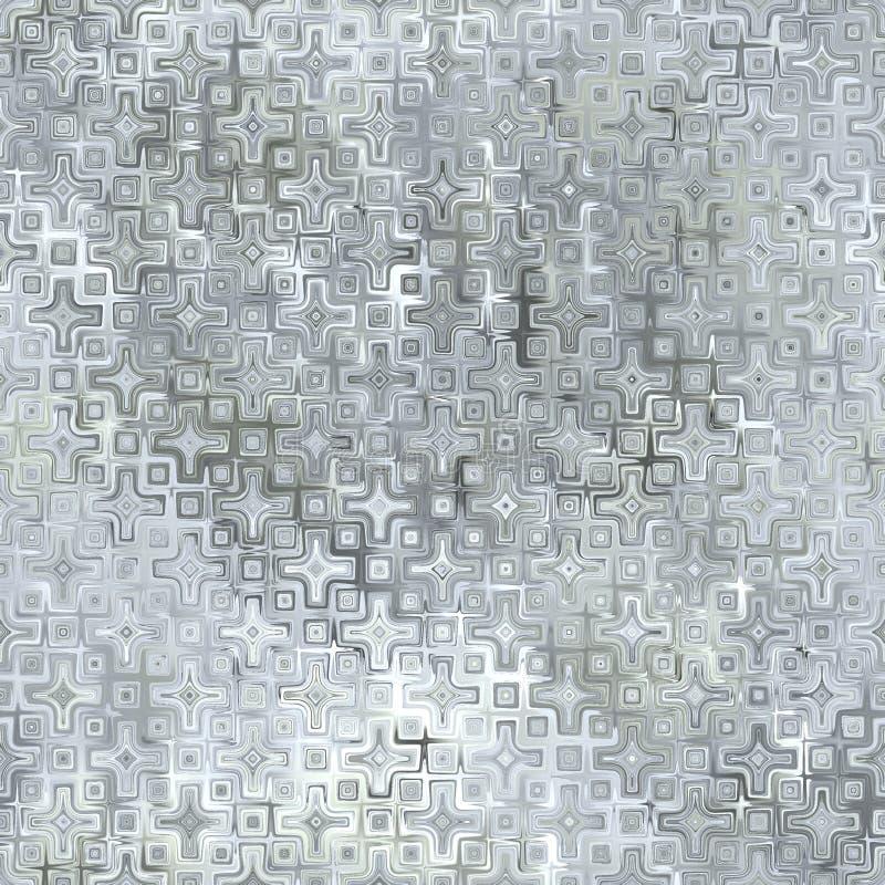 Textura de vidro sem emenda e de Tileable do fundo foto de stock