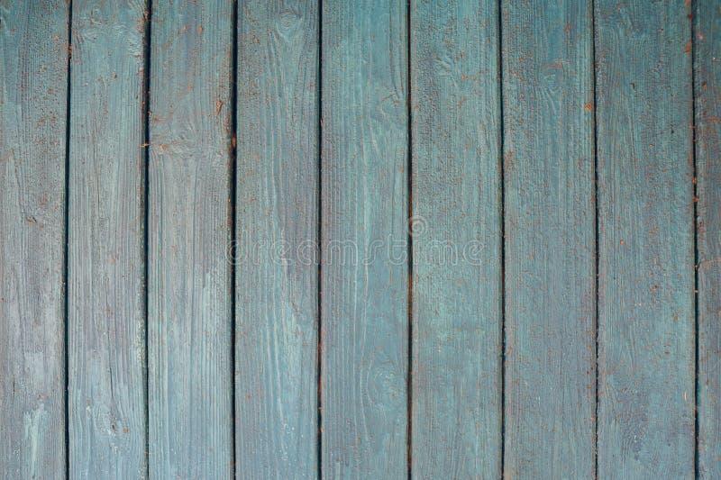 Textura de viejos tableros de madera dilapidados con la pintura, superficie de madera antigua del fondo de madera del grunge del  imagen de archivo