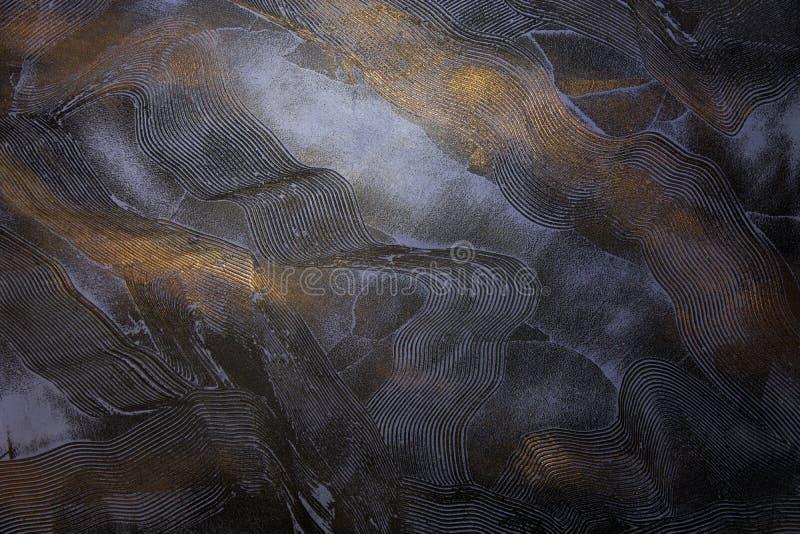 Textura decorativa de lujo del yeso foto de archivo