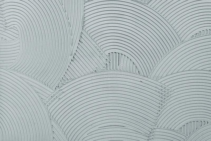 Textura decorativa del final de la pared del yeso imagen de archivo