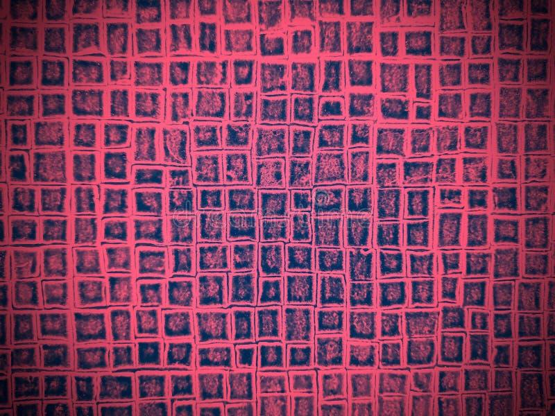 Textura decorativa sob a pele da cor silenciado cor-de-rosa ilustração stock