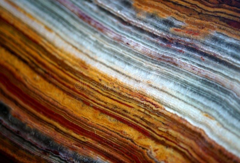Textura del ónix de la piedra de gema y foto de archivo
